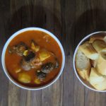 Khmer Potato and Mushroom Curry