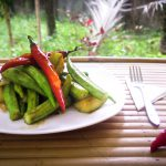 Spicy Green Vegetables